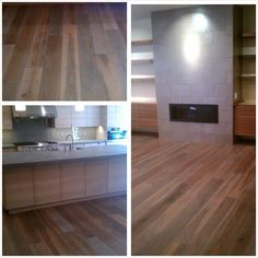 My work. The 8 inch wide plank looked awesome in this modern house.
