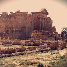 Viajes a Tunez - Los Restos De La Antigua Ciudad Romana Sufetula En Sbeitla14