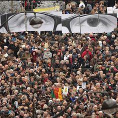 #ElenoireCasalegno Elenoire Casalegno: Grande Parigi! La marcia imponente. Un milione di persone contro il terrorismo. La bandiera con la stella di David accanto alla bandiera di uno stato islamico. Un popolo unito per sconfiggere il terrore. Un popolo che non si piega, non si arrende. Grandi Francesi! La libertà non può essere feconda per i popoli che hanno la fronte macchiata di sangue.