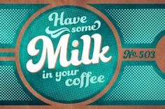 Color + Design Blog / Retro and Vintage Inspired Typography Posters by COLOURlovers :: COLOURlovers
