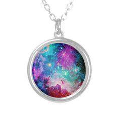 Galaxy Nebula Stars Pendant