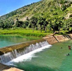 In Saint-Michel Haiti, north river of Bouyaha