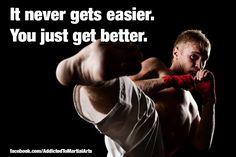Martial arts, where true fighters are born