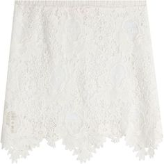 Check out this product: Cotton Lace Crochet Mini Skirt #villoid