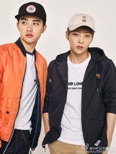 D.O e Xiumin EXO