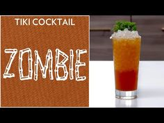 Here is the recipe for the famous Zombie Cocktail, along with the instructions, history, and more. Make sure you hold onto your hat for this cocktail! Zombie Cocktail, Tiki Cocktail, Cocktail Recipes, Cocktails, Drinks, Bartender, The Creator, Business Meeting, Tableware