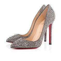 All You Need is Love And Christian Louboutin Pigalle Strass 120mm Special Occasion Hematite ENQ!