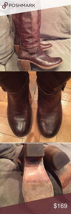 Frye Boots Brown Frye riding boots. Frye Shoes Combat & Moto Boots