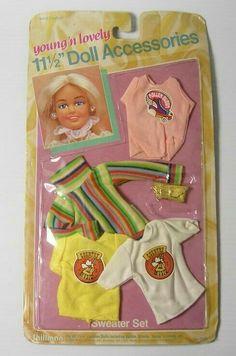 "Barbie /& Tammy Doll Vintage Hard Plastic Clothes Hangers 3.5/"" Set of 10 Green"