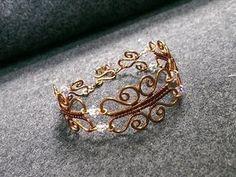 Wire bracelet - How to make wire jewelry 184 #braceletsprojects #howtomakejewelry #wirejewelrymaking