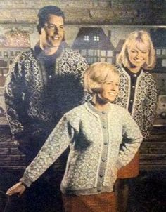 Familien nr 5 1969 Knitting Yarn, Knitting Patterns, Norwegian Knitting, Color Combinations, Diva, Hipster, Embroidery, Crochet, Colour