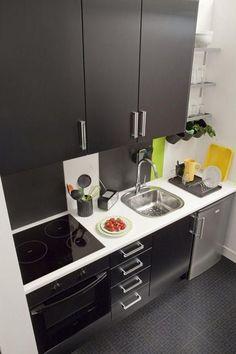 26 maneras de sacarle provecho a una cocina pequeña | Decoración