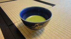 Matcha, Japanese green tea. (thin tea )