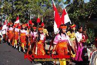 karnaval oembangunan komunitas karangmojo