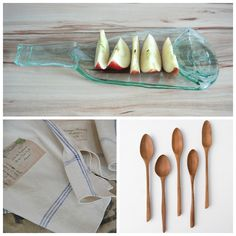 The Picture Garden: Austrian Etsy . invites you to a snack! Dish Towels, Hand Carved, Carving, Invitations, Plates, Snacks, Dishes, Tableware, Garden