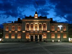 Tampere Townhall, Finland - Tourist attractions in Finland Cities In Finland, Helsinki, Great Pictures, Attraction, Around The Worlds, Mosques, Cathedrals, Mansions, Photo And Video