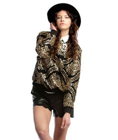 OWN THE NIGHT SEQUIN PULLOVER - NEW ARRIVALS