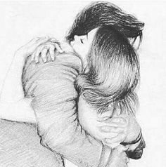 Ani Cinski is a German pencil sketch artist, Illustrator and Graphic Designer. For More Details View Website Romantic Couple Pencil Sketches, Couple Sketch, Cute Couple Drawings, Cute Couple Art, Art Drawings Sketches Simple, Pencil Art Drawings, Love Drawings, Hugging Drawing, Watercolor Scenery