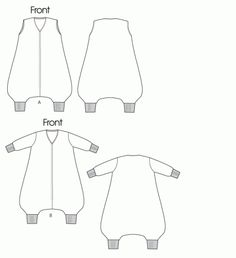 Toddler/Infant/Baby Sleep Sack Tutorial Pattern - Child Pajama Pattern Tutorial | Vanilla Joy