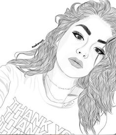 ʝυѕт fυ¢кιиg fℓℓω мє ( – - New Sites Tumblr Girl Drawing, Tumblr Sketches, Tumblr Drawings, Girl Drawing Sketches, Girly Drawings, Tumblr Art, Outline Drawings, Girl Sketch, Tumblr Girls