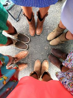 Our country girl boots and dresses ❤❤❤