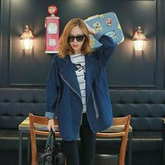 Buy 'WITH IPUN – Zip-Up Denim Jacket' with Free International Shipping at YesStyle.com. Browse and shop for thousands of Asian fashion items from South Korea and more!