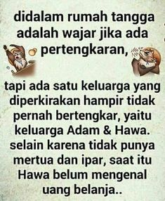 Quotes Lucu, Jokes Quotes, New Quotes, Motivational Quotes, Funny Quotes, Inspirational Quotes, Cartoon Jokes, Marriage Life, Husband Quotes
