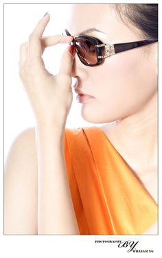 SODA Eyewear Advertisment Shooting // Model : Yuen // Make-up & Hair : Kenji Kim
