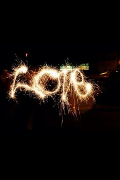 Let your love sparkle