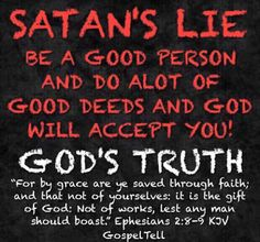 Salvation by Grace.