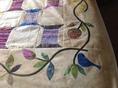 Spool quilt, pattern by Edtya Sitar