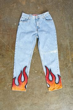 Repurposed Levis Flame Pant