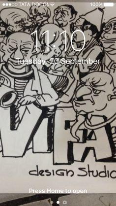 cartoon character by anil vadhera