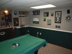 Man Cave Hours : My eagles man cave it took me 72 hours to turn this plain white
