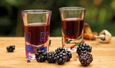 John Wright's blackberry whisky