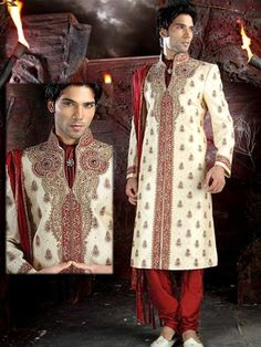 Groom color famili, indian, famili sherwani, brown color, groom