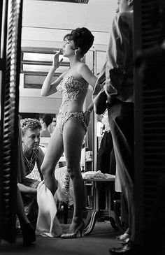 Natalie Wood - during the filming of Gypsy, 1962