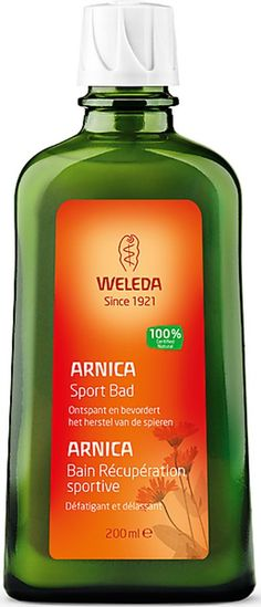 Weleda Arnica Sport Bad - 200 ml vind je snel op Bolcom met onze zoekhulp voor biologisch en natuurlijk en wellness. Heel veel directe links naar bio merken.