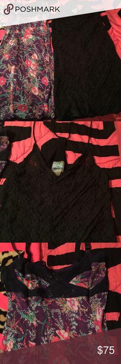 2 FREE PEOPLE SLIPS/LINGERIE BOTH SZ XSM-SM $75. 2 FREE PEOPLE SLIPS/LINGERIE BOTH SZ XSM-SM $75.00 for both!!! Free People Intimates & Sleepwear Chemises & Slips