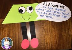 Tons of ideas for teaching 2D shapes and their attributes.