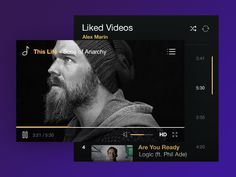 Just something I've been working on today, alongside another UI Kit (because they're fun) that I am going to post in a few days.  Recently started watching Sons of Anarchy, and that's Opie with his...