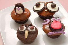wikiHow to Make Owl Cupcakes -- via wikiHow.com