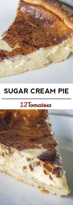 Sugar Cream Pie