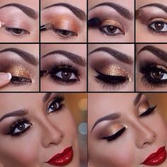 How to smoky eyes