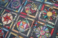 Lily's Quilts: Amitie BOM The Circle Game - quilt top finished