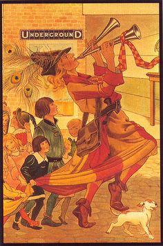 1914 Underground poster