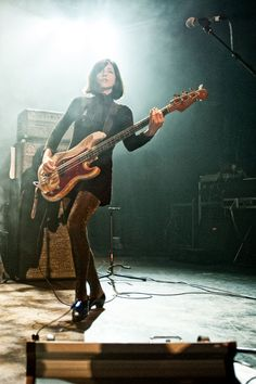 Paz Lenchantin (Pixies) by Dana 'Distortion'...