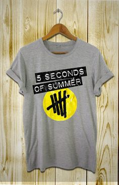 5 second of summer shirt 5 sos women and men t by proprintshirt, $16.50