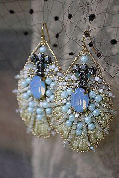Handmade earrings. Irena Gasha