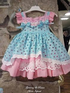 Toddler Girl Style, Toddler Dress, Toddler Outfits, Baby Dress, Baby Girl Dress Patterns, Little Dresses, Little Girl Dresses, Baby Girl Fashion, Kids Fashion